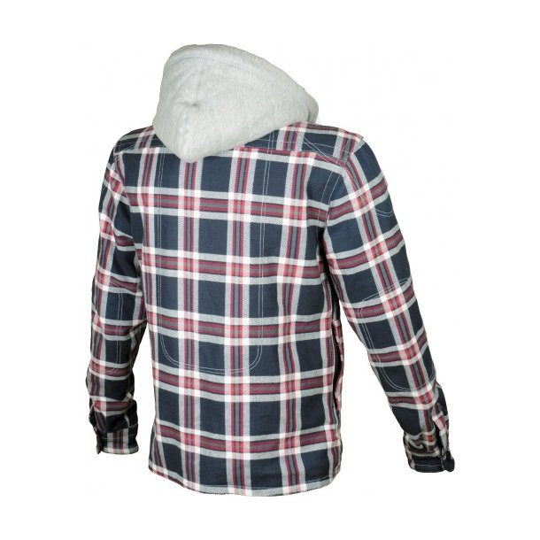 BOOSTER HUNT PLAID JACKET W/KEVLAR