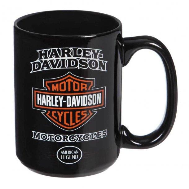 Harley-Davidson® American Legend Ceramic Coffee Cup, 15 oz/4,43 dl