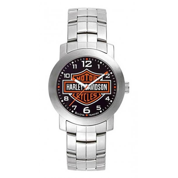Men's  Bar & Shield Wrist Watch