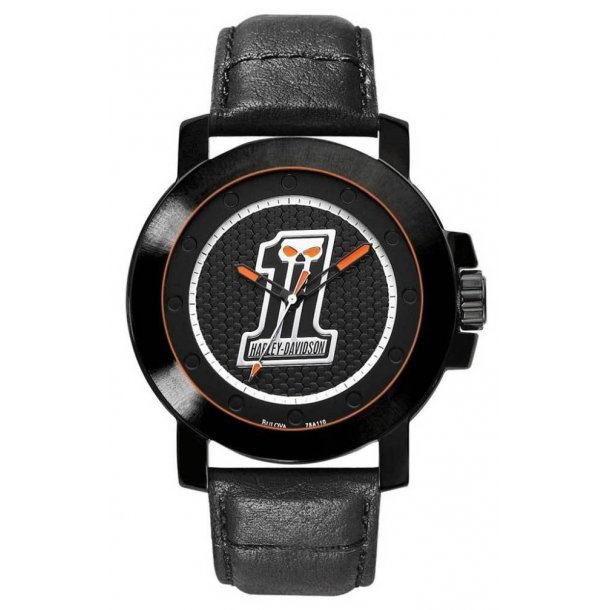 Men's  #1 Skull Wrist Watch