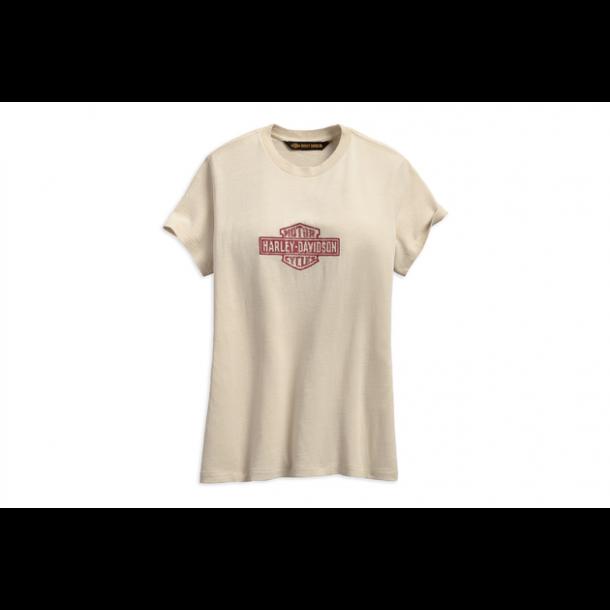 Harley-Davidson Ladies T-Shirt Bone White