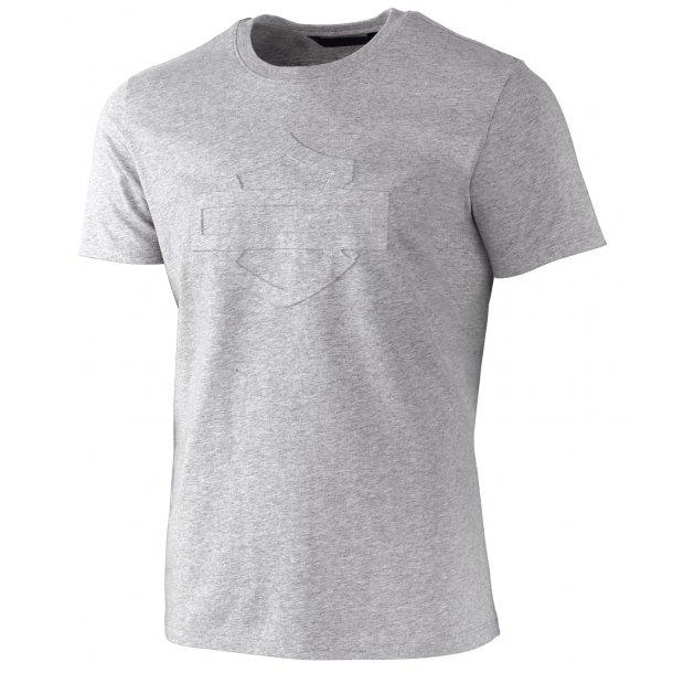 Harley-Davidson Slim Fit T-Shirt Heather Grey Embossed