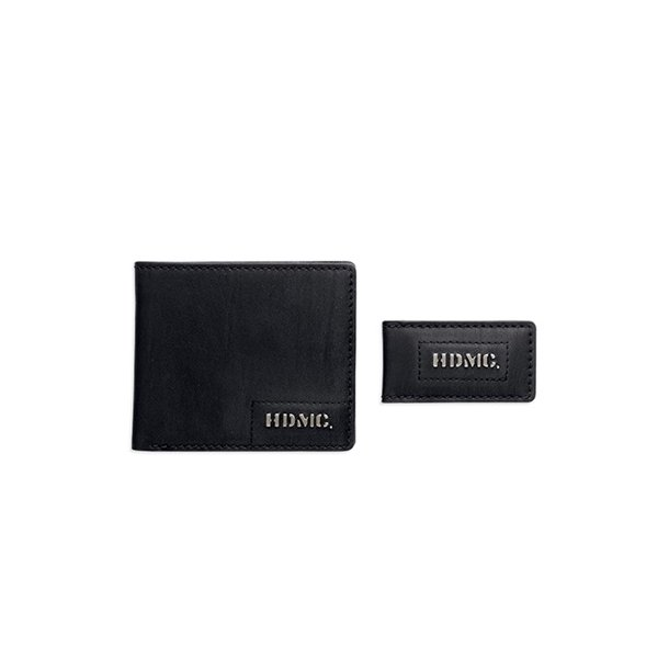 Men's HDMC Wallet and Money Clip Gift Set