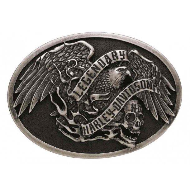 Men's Sculpted Legendary Eagle Belt Buckle