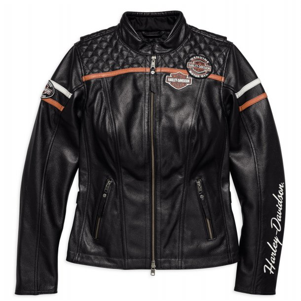 MISS ENTUSIAST CE-CERTIFIED LEATHER JACKET
