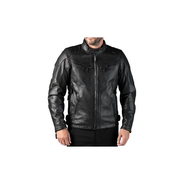CE FXRG WP TRIPLE VENT LEATHER JACKET