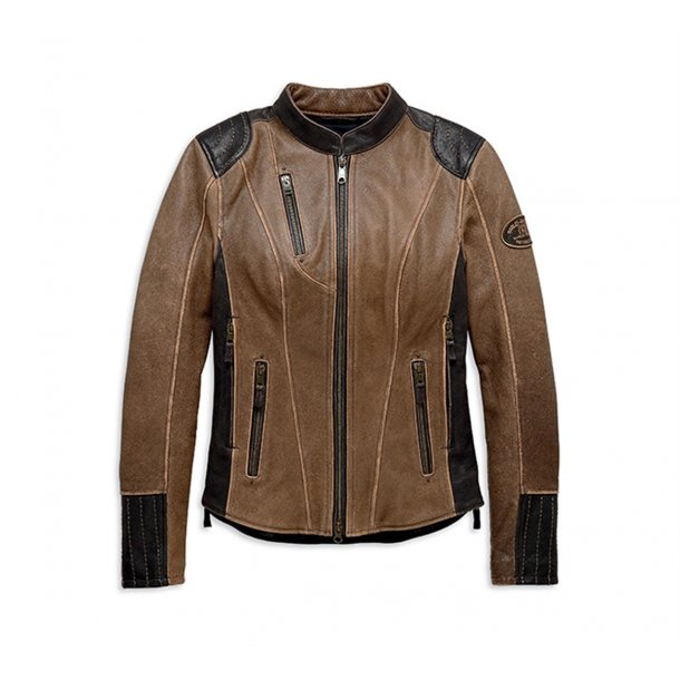 H-D® TRIPLE VENT SYSTEM™ Gallun Leather Jacket