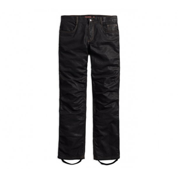 CE PANT-WAXED DENIM RIDING JEAN,BLACK