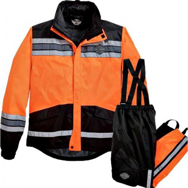 Men's Hi-Vis Rain Suit Orange