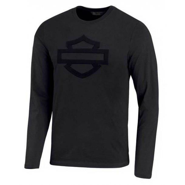 Harley-Davidson® Men's Embossed Logo Slim Fit Long Sleeve Tee