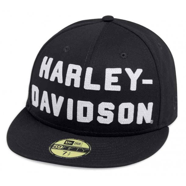 Harley-Davidson Baseball Cap Felt Letter 59Fifty