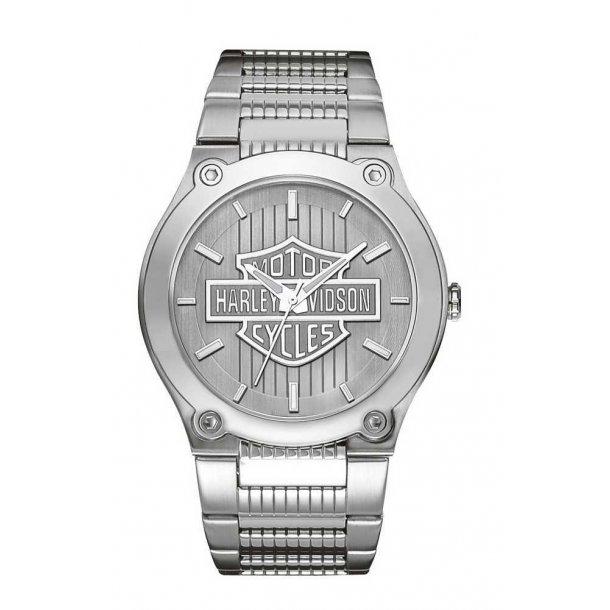 Harley-Davidson® Men's Bulova Bar & Shield Wrist Watch