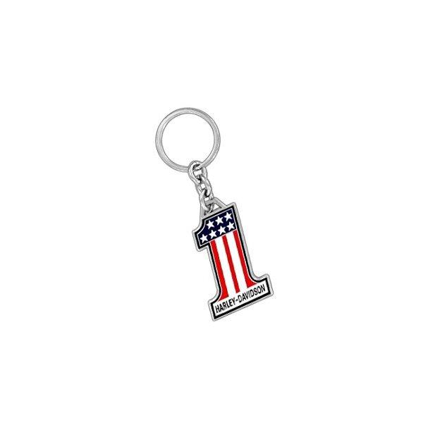 Harley-Davidson American Flag Number 1 # Keychain