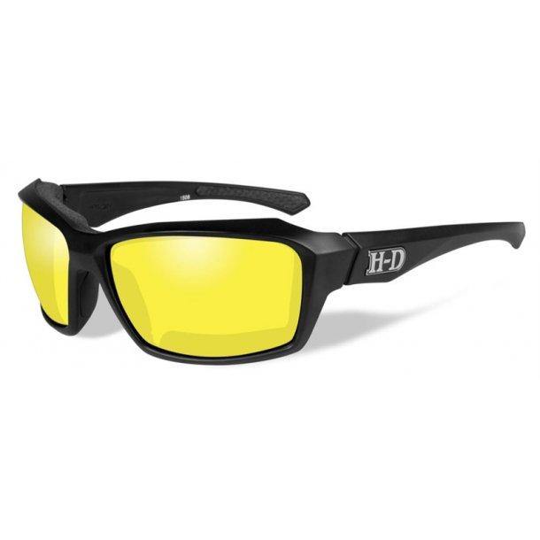 HD CANNON Yellow lence matte blk frame