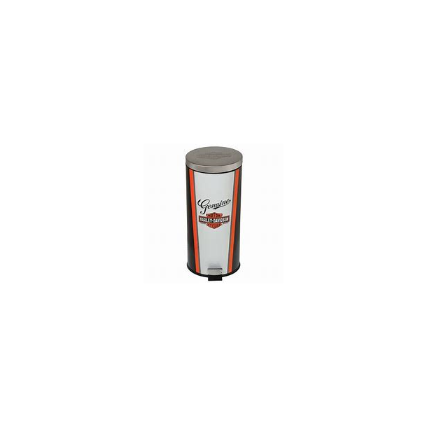 Harley-Davidson Nostalgic Bar & Shield Garbage Can, 11.5 x 25.25 inch