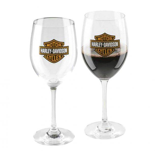 BAR & SHIELD WINE GLASS SET