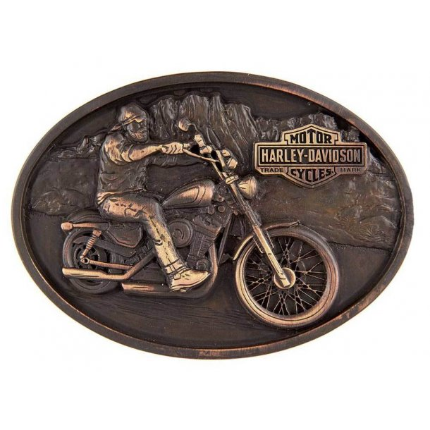 Men's Born Bad Belt Buckle, Antique Copper Finish