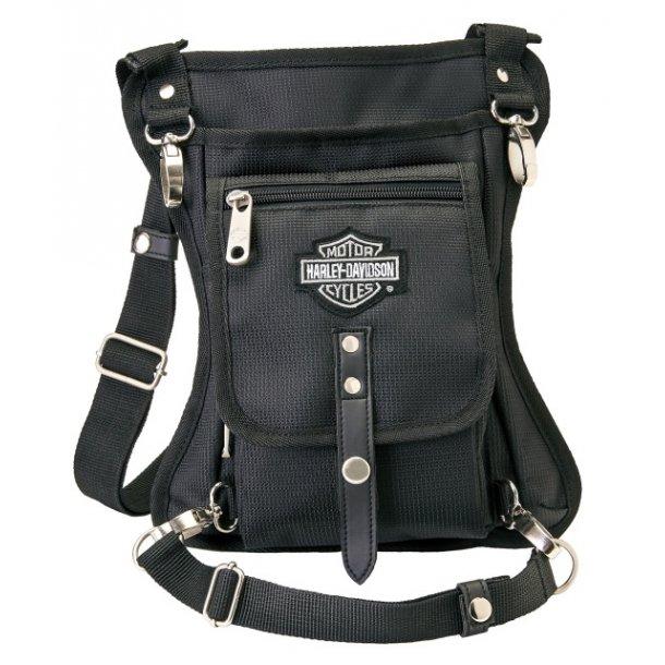 'Harley-Davidson Side Slinger 2-IN-1 Shoulder Bag / Leg Holster