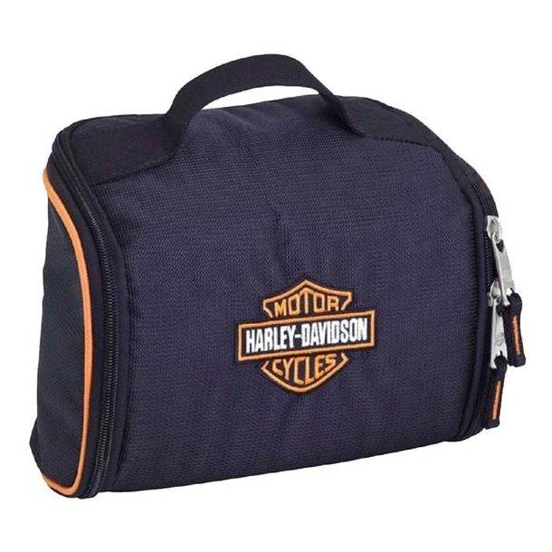 Harley-Davidson® Bar & Shield Fabric Toiletry Bag