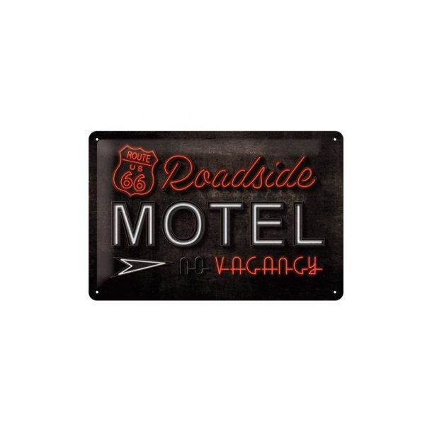 MOTEL 55 TIN SIGN 20X30