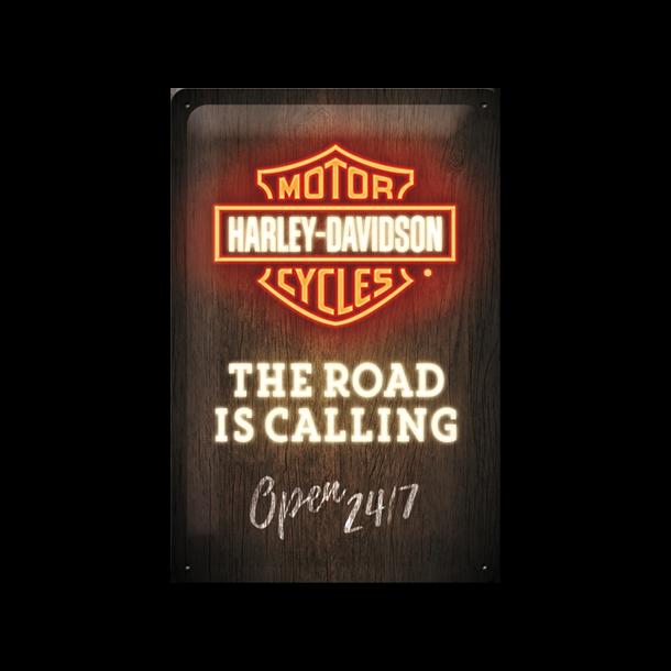 Harley-Davidson Open24h 20x30 cm