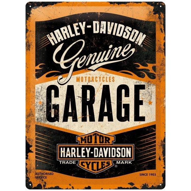 Harley-Davidson Garage 30x40 cm