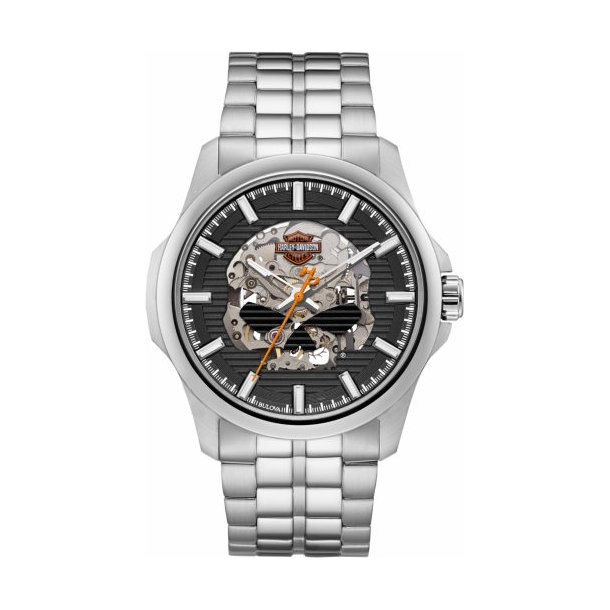 Mens Willie G Skull Watch