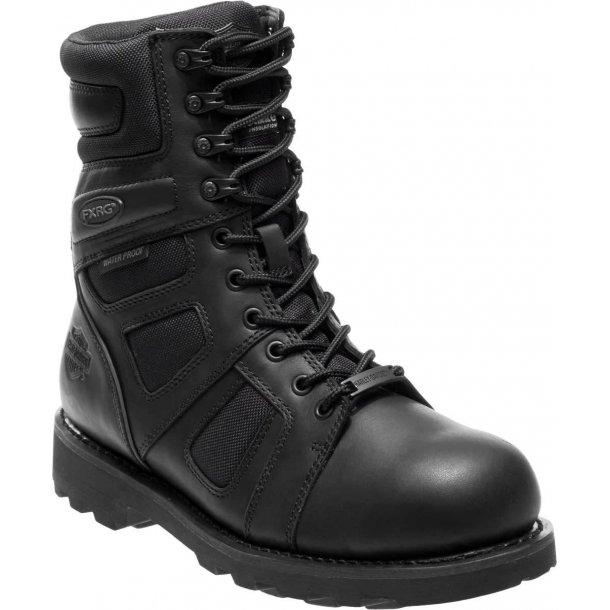 Men's Welton FXRG Waterproof Black Motorcycle Boots CE