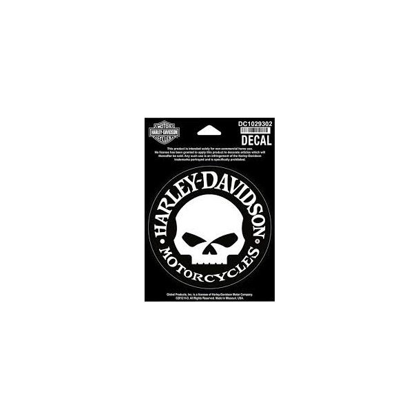 DECAL SKULL SMALL