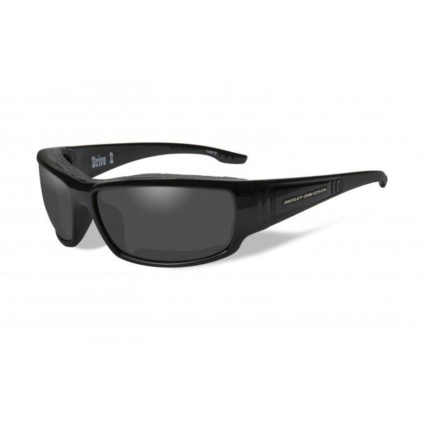 DRIVE2 smoke grey lence gloss black frame