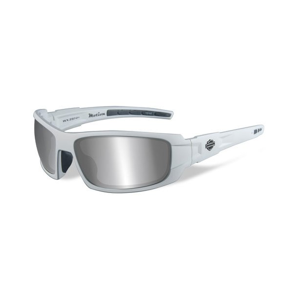 HD MOTION grey lence matte wht frame