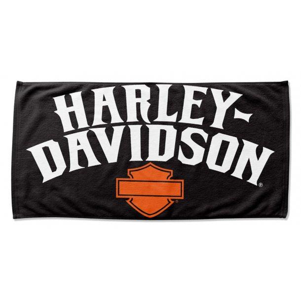 Harley-Davidson® Identity B&S Beach Towel, 76 x 152 cm