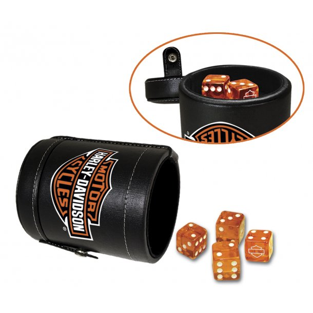 Harley-Davidson Double Dice Cup
