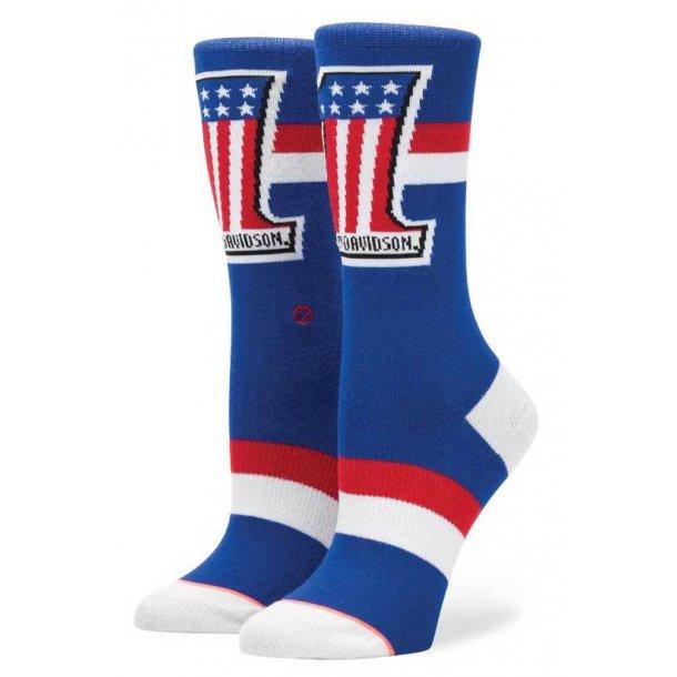 Harley-Davidson® Stance Women's Washed Freedom Crew Height Socks